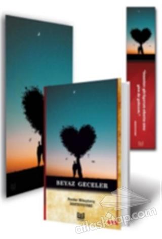 BEYAZ GECELER - 3'LÜ SET (KİTAP - MİNİ TABLO - AYRAÇ) (  )