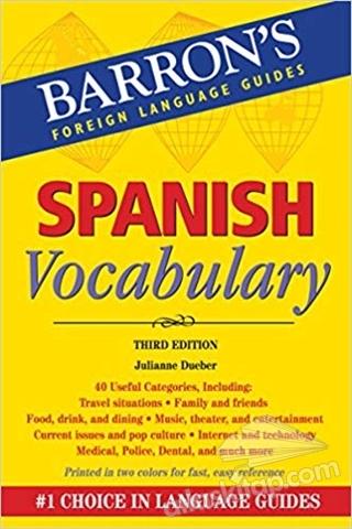 SPANİSH VOCABULARY (  )