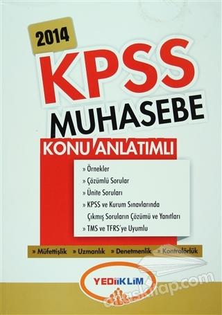 YEDİİKLİM 2014 KPSS A GRUBU MUHASEBE KONU ANLATIMLI (  )