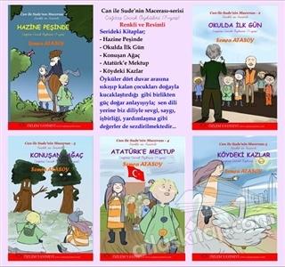 CAN İLE SUDE'NİN MACERASI SERİSİ (5 KİTAP) (  )