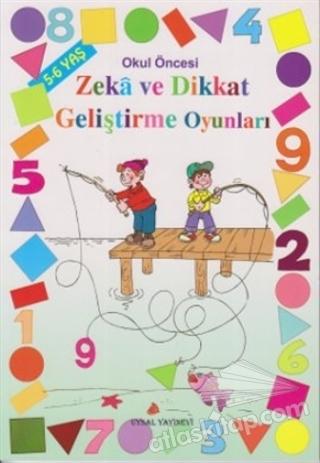 OKUL ÖNCESİ ZEKA VE DİKKAT GELİŞTİRME OYUNLARI - 5-6 YAŞ (  )