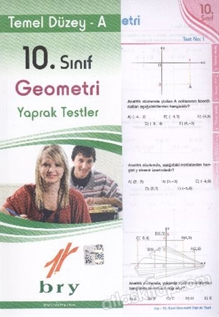 BİREY 10. SINIF GEOMETRİ YAPRAK TESTLER TEMEL DÜZEY A (  )