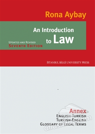 AN INTRODUCTİON TO LAW (  )
