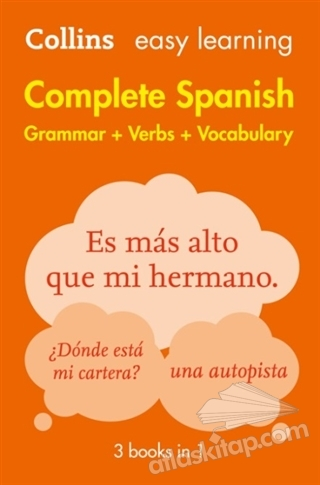 EASY LEARNİNG COMPLETE SPANİSH ( GRAMMAR- VERBS- VOCABULARY )