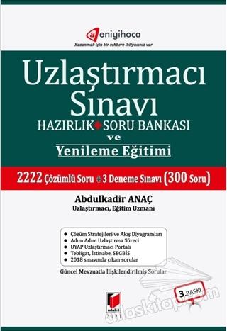 UZLAŞTIRMACI SINAVI HAZIRLIK + SORU BANKASI VE YENİLEME EĞİTİMİ (  )