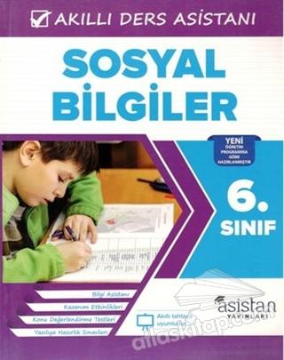 6. SINIF SOSYAL BİLGİLER AKILLI DERS ASİSTANI (  )