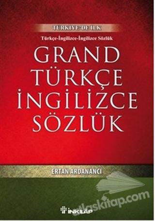 GRAND TÜRKÇE İNGİLİZCE SÖZLÜK (  )