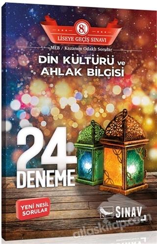 8. SINIF DİN KÜLTÜRÜ VE AHLAK BİLGİSİ 24 DENEME (  )