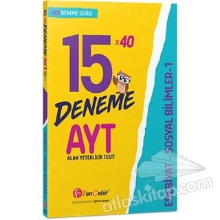 AYT EDEBİYAT SOSYAL BİLİMLER 1 15x40 DENEME (  )