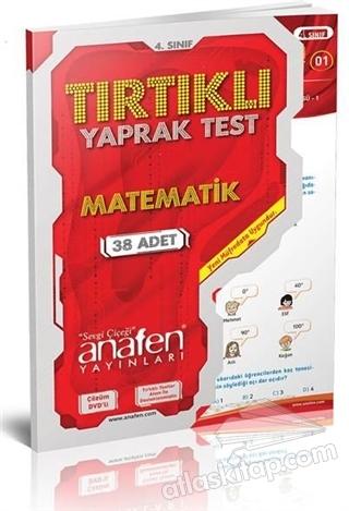 4. SINIF TIRTIKLI YAPRAK TEST MATEMATİK (DVD'Lİ) (  )