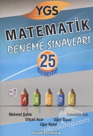 PALME YGS MATEMATİK DENEME SINAVLARI 25 DENEME (  )