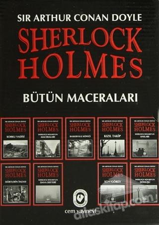 SHERLOCK HOLMES BÜTÜN MACERALARI (9 KİTAP TAKIM) (  )