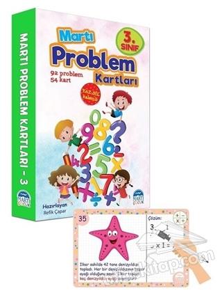 3. SINIF PROBLEM KARTLARI - YAZ SİL KALEMLİ (  )