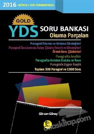 GOLD YDS SORU BANKASI OKUMA PARÇALARI (  )