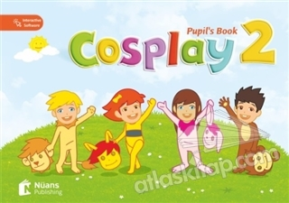 COSPLAY 2 - PUPİL'S BOOK ( BOOK + STİCKERS + INTERACTİVE SOFTWARE )