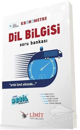 TYT KRONOMETRE DİL BİLGİSİ TAMAMI VİDEO ÇÖZÜMLÜ SORU BANKASI (  )