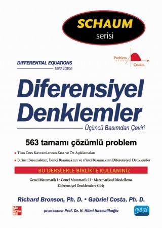 DİFERENSİYEL DENKLEMLER - SCHAUM'  S ( DİFERENSİYEL DENKLEMLER - SCHAUM'  S )
