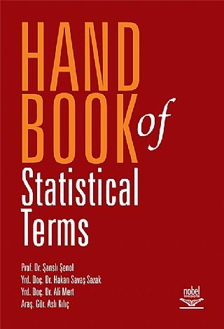 HANDBOOK OF STATİSTİCAL TERMS ( HANDBOOK OF STATİSTİCAL TERMS )
