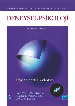 DENEYSEL PSİKOLOJİ - ExPERİMENTAL PSYCHOLOGY ( DENEYSEL PSİKOLOJİ - ExPERİMENTAL PSYCHOLOGY )